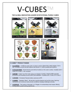 **V-CUBE, THE GLOBAL INNOVATION LEADER IN ROTATIONAL PUZZLE CUBES