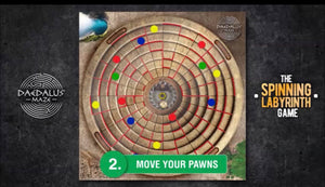 **Daedalus Maze: A Spinning Labyrinth Game