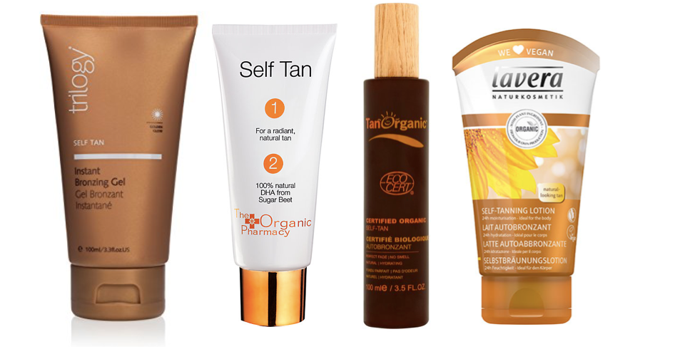 How to pick a natural self tanning product