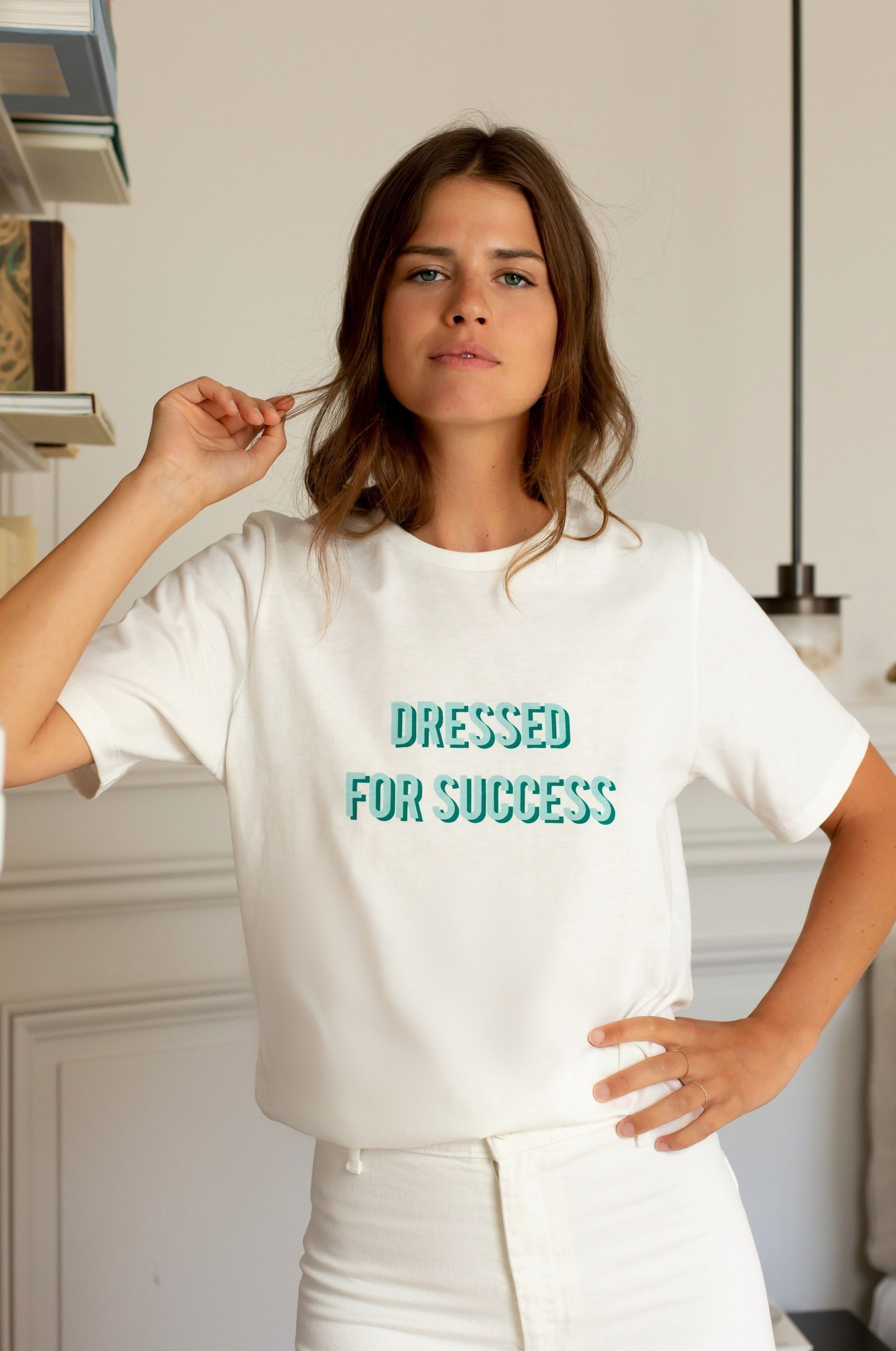 "T-shirt ""Dressed for Success"""