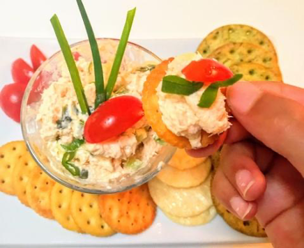 Fusion Indian Food: Salmon Cream Cheese dip w/Anar Gourmet Foods Curry Powder