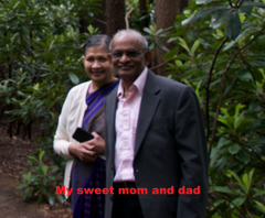 my sweet mom and dad