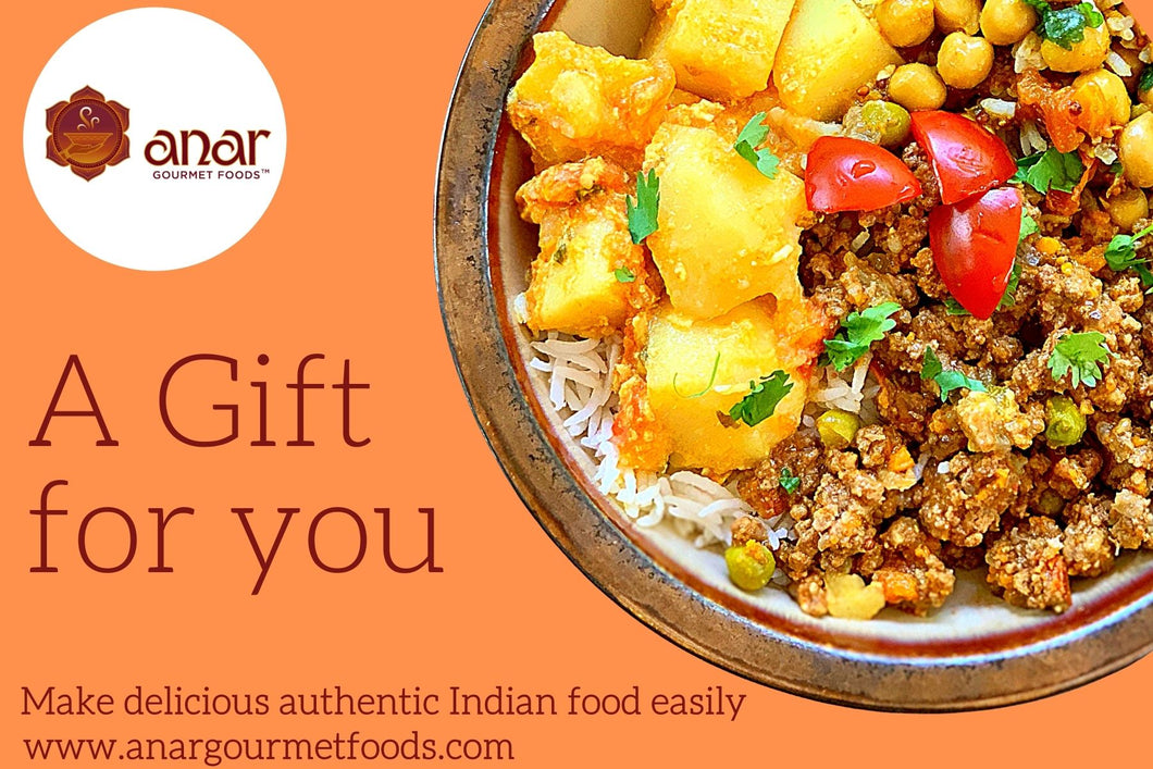 Anar Gourmet Foods Digital Gift Card