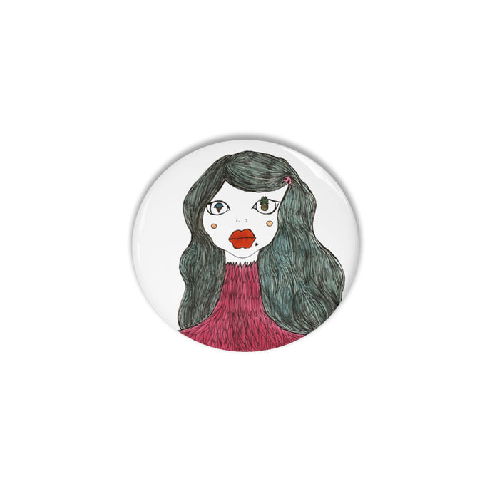 Girl of a Feather Pin