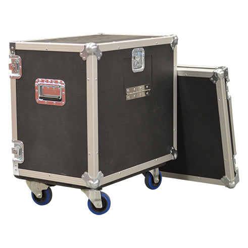 1x10 Live In Road Case with Casters - St. Louis Case