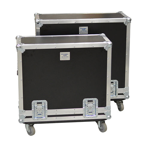 4x10 Lift Lid Road Case with Casters- St. Louis Case