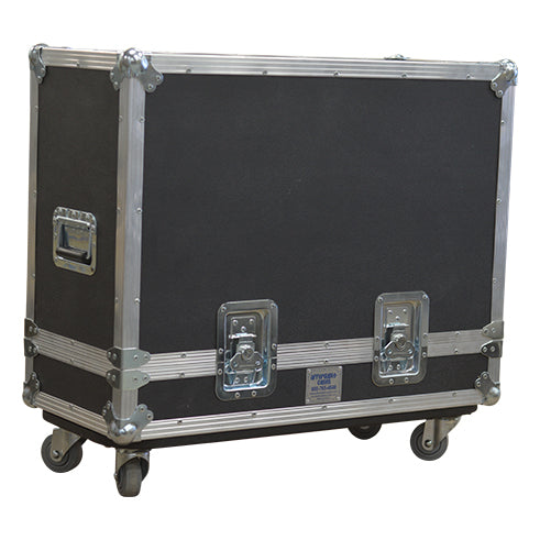 2x12 Lift Lid Road Case, Side View - St. Louis Case