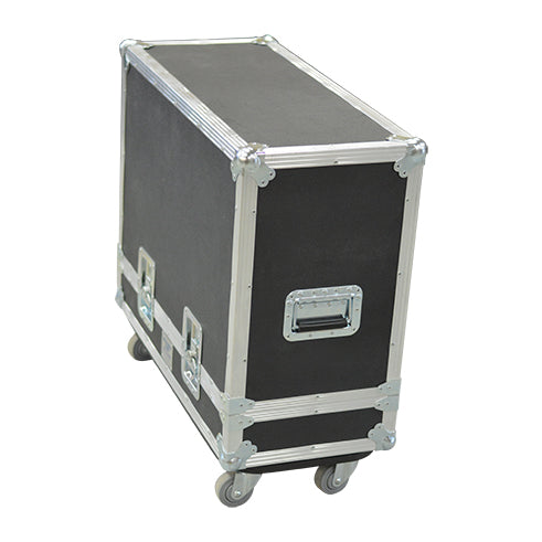 Side View of 1x18 Lift Lid Road Case - St. Louis Case