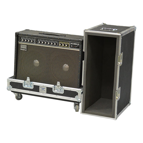 2x10 Lift Lid Amp or Speaker Road Case - St. Louis Case