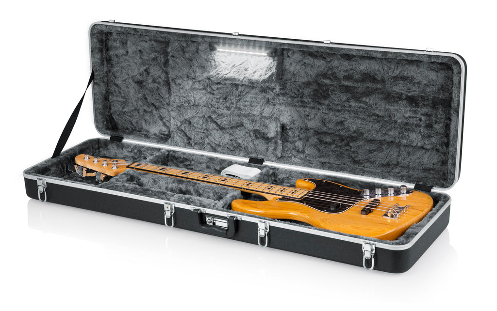 GC Guitar Series - Bass Guitar Case; LED Edition