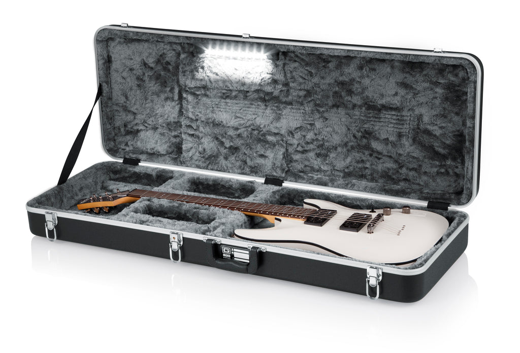 GC Guitar Series - Electric Guitar Case; LED Edition