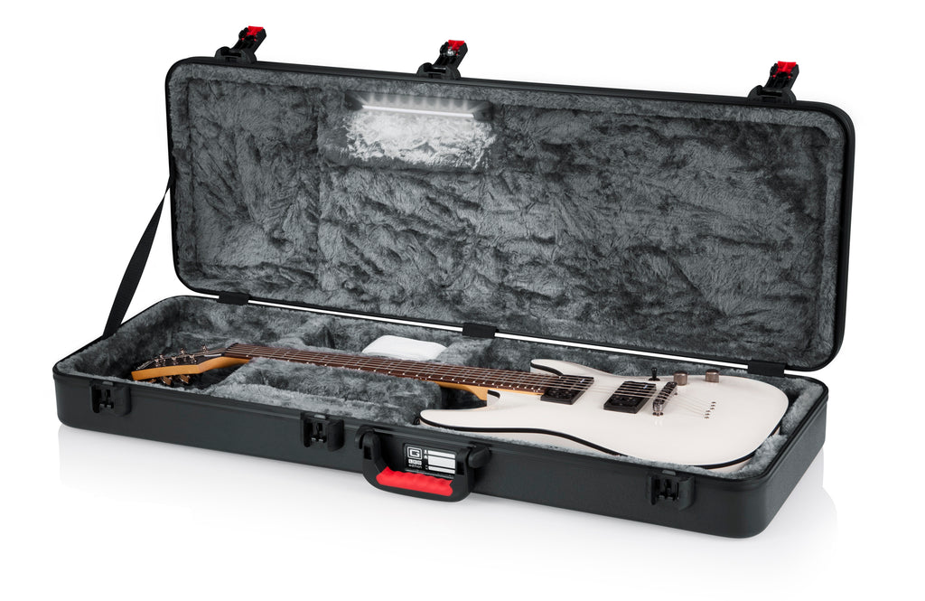 TSA Guitar Series - Electric Guitar Case; LED Edition