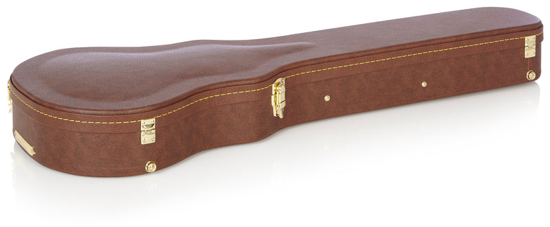 Deluxe Wood Series - Gibson Les Paul® Guitar Case, Brown