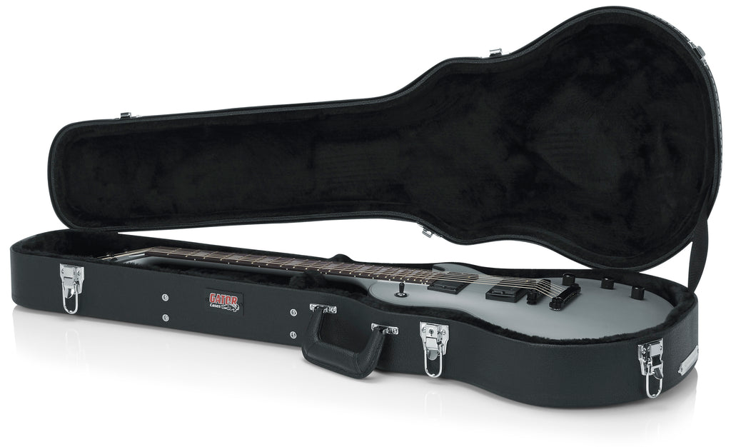 Deluxe Wood Series - Gibson Les Paul® Guitar Case, Black