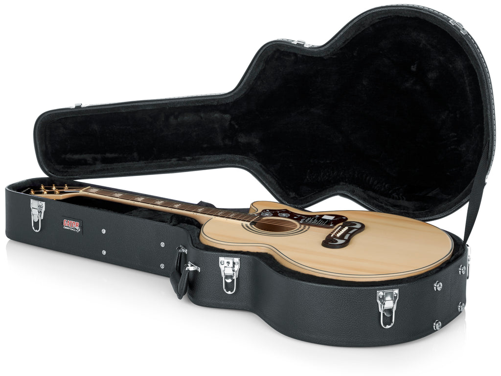 Deluxe Wood Series - Jumbo Acoustic Guitar Case