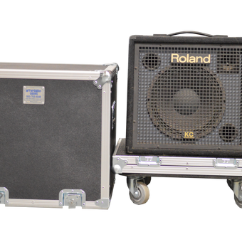 1x12 Lift Lid Road Case with Casters - St. Louis Case