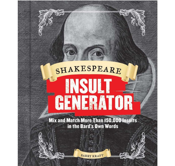 Abrams & Chronicle - Hachette Shakespeare Insult Generator SB 1