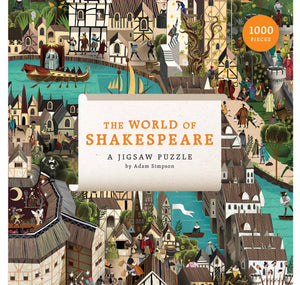 Abrams & Chronicle - Hachette World of Shakespeare: A Jigsaw Puzzle 1