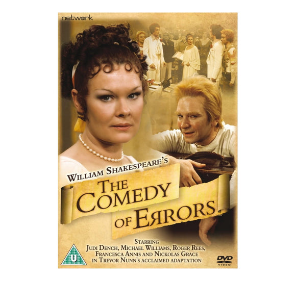 Comedy of Errors Judi Denc  RSC DVD 1978