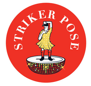 Custom Works Bespoke Badge: Striker Pose 1