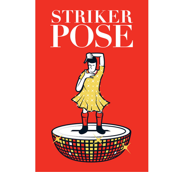 Custom Works Bespoke Magnet: Striker Pose 1