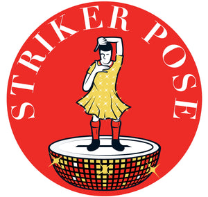 Custom Works Bespoke Pocket Mirror: Striker Pose 1