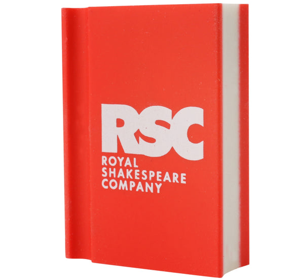 Emblem Print Products Ltd Eraser: RSC Logo Red Book 1