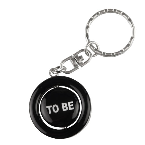 Emblem Print Products Ltd Key Ring Spinner: To Be or Not To Be? 1