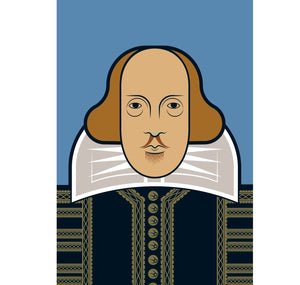 Genesis Postcard: Andy Tuohy - Shakespeare 1