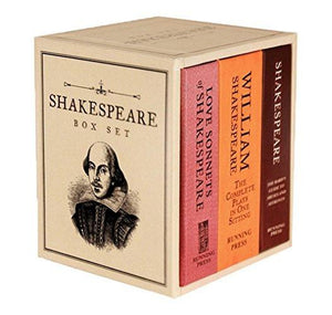 Hachette UK Shakespeare Box Set: Miniature Editions 1