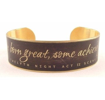 Jezebel Charms Med Cuff: Some Are Born Great 1