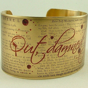 Jezebel Charms Wide Cuff: Out Damn Spot 1