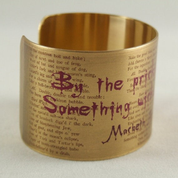 Jezebel Charms Wide Cuff: Something Wicked This Way Comes 1