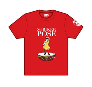 Kids T Shirt: Striker Pose 1