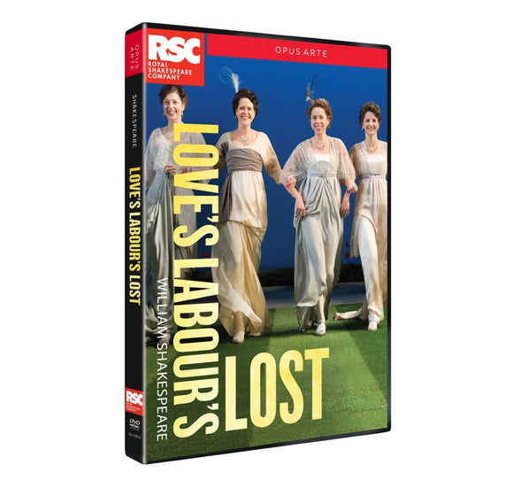 Loves Labours Lost RSC DVD 2015