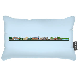 My World Cushion: Stratford-upon-Avon Skyline 1