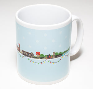 My World Mug: Stratford Christmas Skyline 1