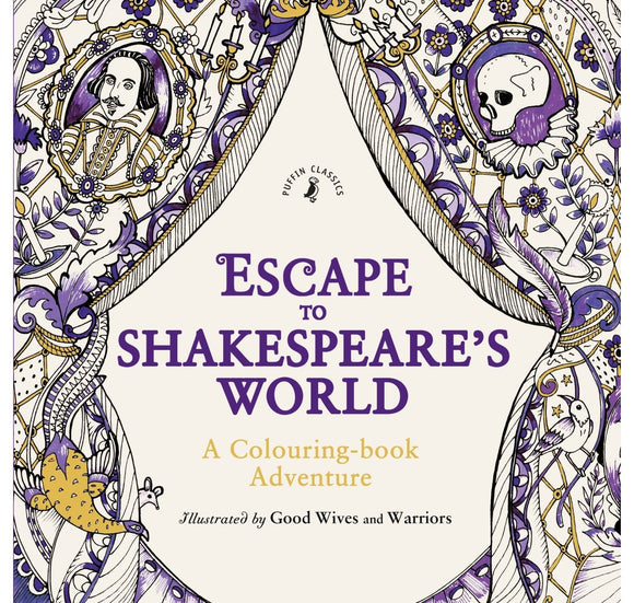 Penguin Random House Escape to Shakespeare's World: Colouring Book Adventure PB 1