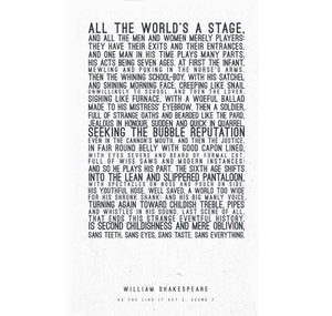 Print: All The World's a Stage 1