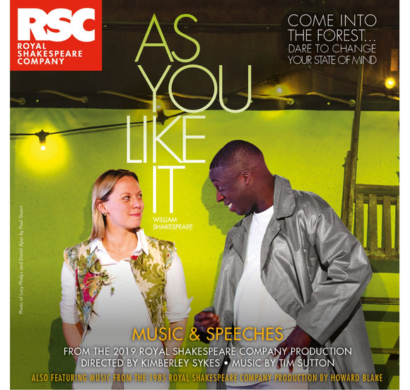RSC CD: Music & Speeches As  You Like It: Music & Speeches CD (2019) 1