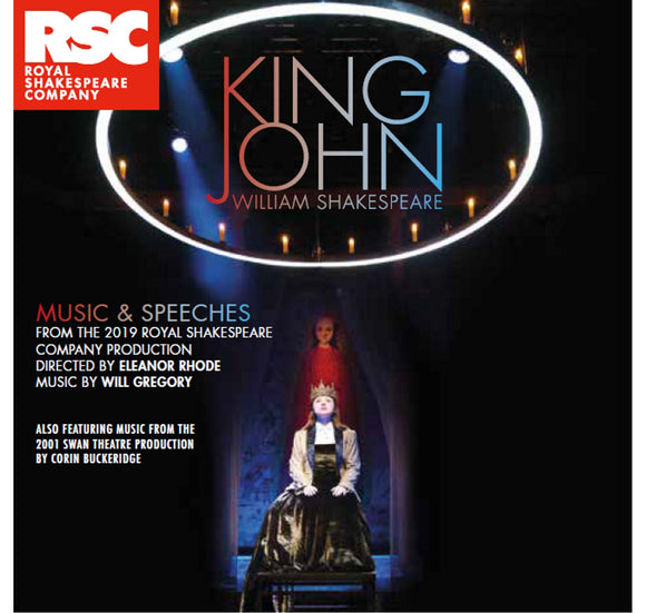 RSC CD: Music & Speeches King John: Music & Speeches CD (2019) 1