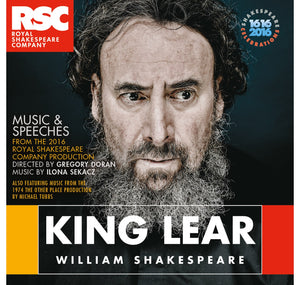 RSC CD: Music & Speeches King Lear: Music & Speeches CD (2016) 1