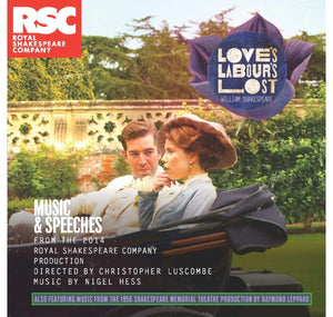 RSC CD: Music & Speeches Love's Labour's Lost: Music & Speeches CD (2014) 1