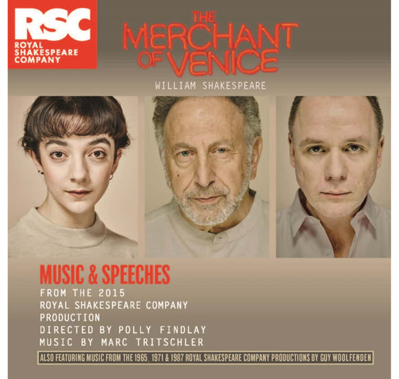 RSC CD: Music & Speeches Merchant of Venice: Music & Speeches CD (2015) 1