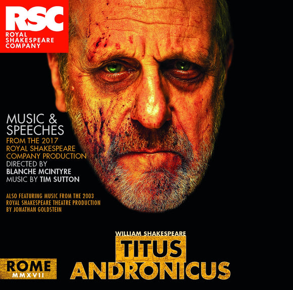 RSC CD: Music & Speeches Titus Andronicus: Music & Speeches CD (2017) 1