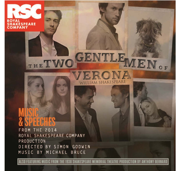 RSC CD: Music & Speeches Two Gentlemen of Verona: Music & Speeches (2014) 1