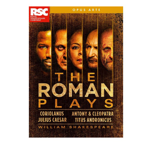Roman Plays Box Set RSC DVD 2019