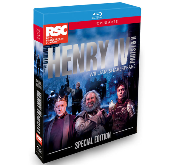 Select Henry IV Parts I & II: RSC, Blu-ray (2015) 1