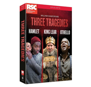 Shakespeares Tragedies Box Set RSC DVD 2017