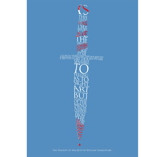 Star Editions Greeting Card: Is This A Dagger Which I See Before Me? 1
